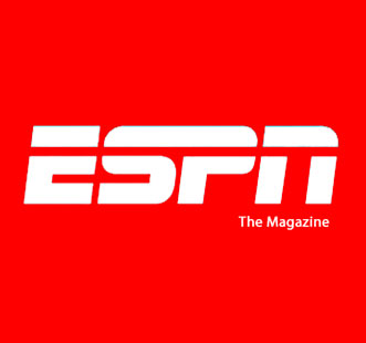 ESPN Magazine features the On Cloudracer
