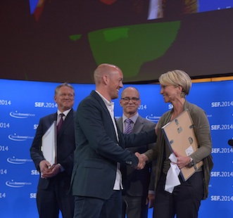 On gewinnt begehrten Swiss Economic Forum Award