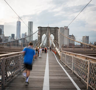 Explore New York City with On's insider running maps.
