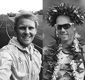 The current World Champion and the Kona Pro Rookie