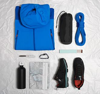 What do explorers pack for their adventures?