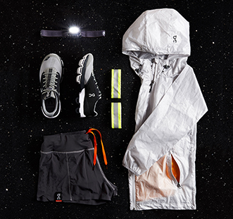 What do Nightriders pack for their running adventures?